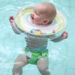赤ちゃんの浮輪